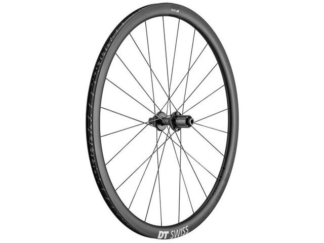 "DT Swiss PRC 1100 Dicut Rear Wheel 28"" Disc CL 142/12mm TA 18mm Shimano 11-speed Light, gris"